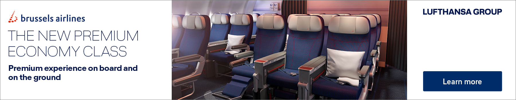 The New Premium Economy Class with Brussels Airlines